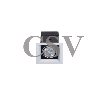 LED grille spotlight 3Wx1