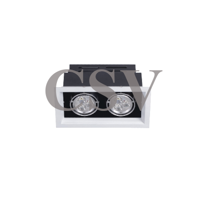LED grille spotlight 3Wx2