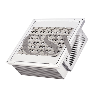 LED canopy light 140W for surface and recessed mount